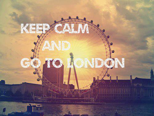 Let's go. Chi sa, sa. :: Keep Calm And Go To London