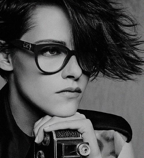 Kristen Stewart for Chanel Eyewear Spring 2015 Campaign by Karl Lagerfeld 550f8f1a78c3