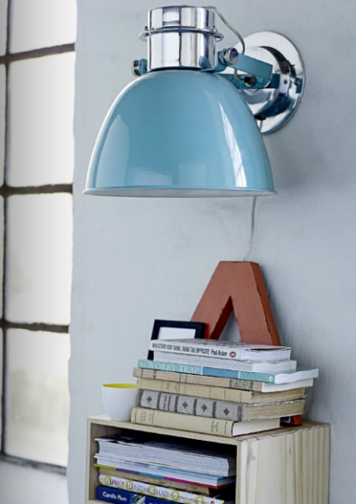 myidealhome:   pretty lamp (via Méchant Design: Bloomingville Spring 2013)
