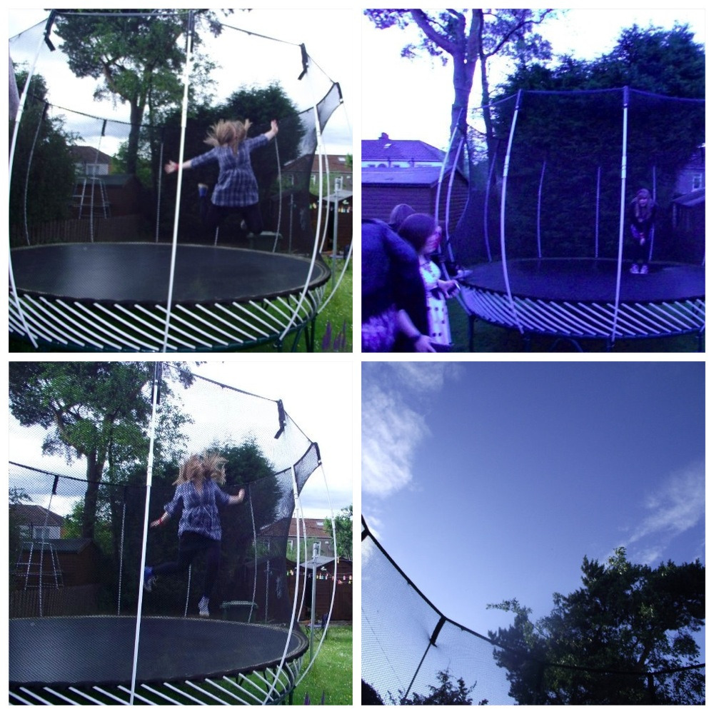 I love my trampoline.