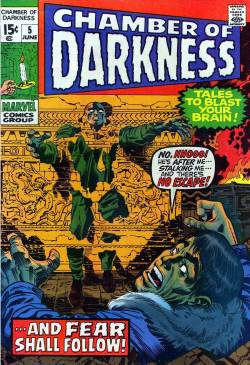 Chamber of Darkness #5. Art by Jack Kirby and Bill Everett.
