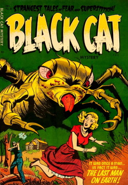 monsterman:   Black Cat Mystery (No.53, 1954)