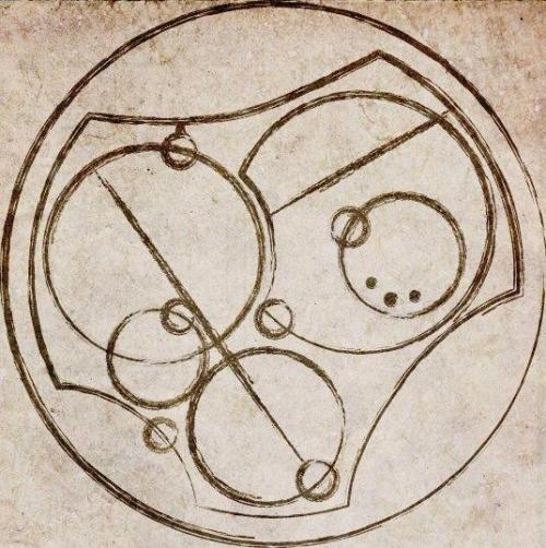 "igropemaffewsbutt:  ""I love you"" written in Circular Gallifreyan"