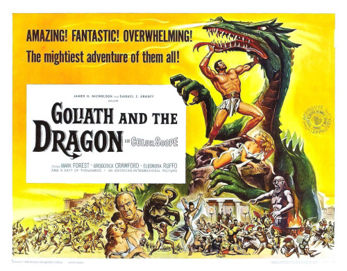 "TH13: What I learned from ""Goliath and the Dragon"" (1960) 1. The name ""Euretes"" just makes me giggle every time I hear it.2. One can make a pretty good…View Post"