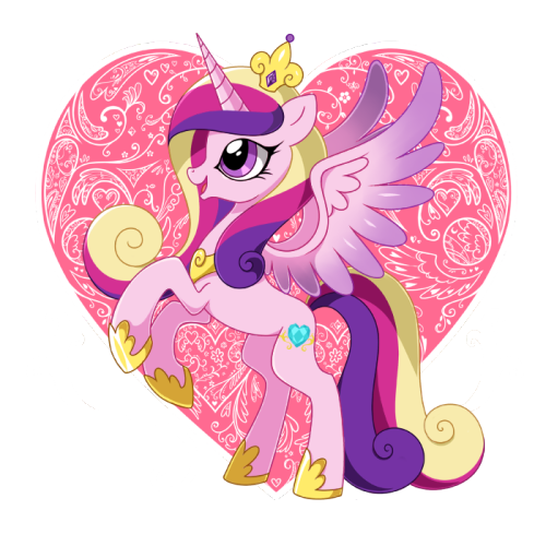 theponyartcollection:  Princess Cadance by *Jiayi