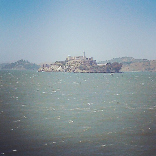 IT'S THE ROCK #alcatraz #california #fishermanswharf