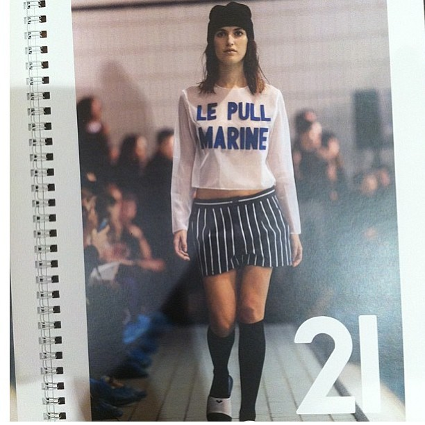 The best designer ever @simon_porte_jacquemus Bravo! #lepullmarine #fashion #designer #jacquemus