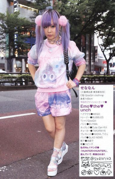 fairy kei pop kei decora jfashion kawaii fashion pastel fashion kera japan street snaps