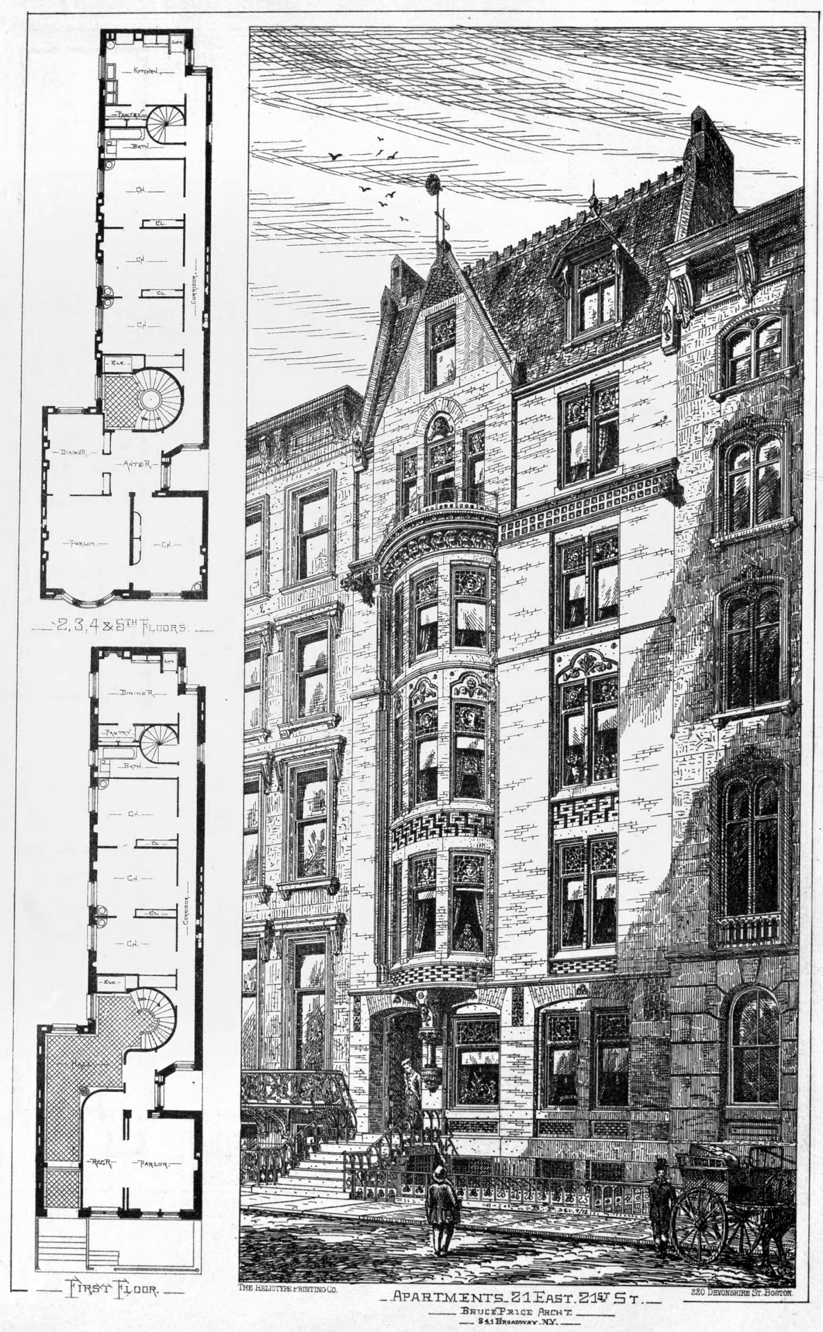 Apartment building on 21 East 21st Street, New York City