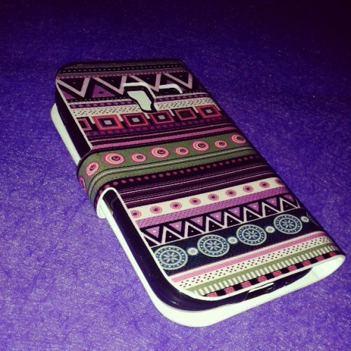 Finally! #aztec phone case. Thankyou babe @jomarmabasa ♡