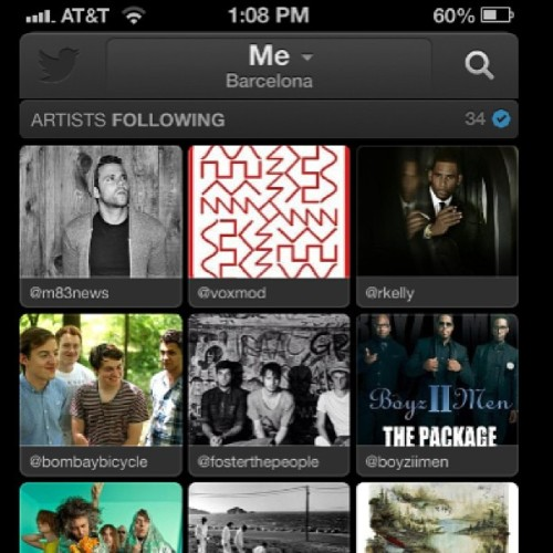 Checking out the new #TwitterMusic App and finding that we have a lot of variance…I mean #BoyzIIMen are totally set for a comeback in 2013 right guys?