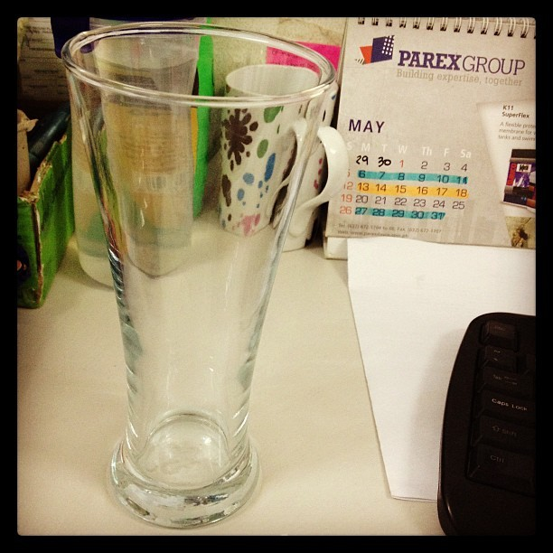 Because I'm sexy, sexy glass from kenny. 10 days early ang gift. :)) Thanks!