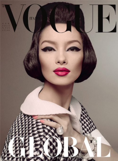 thewallgroup:  Fei Fei Sun photographed by Steven Meisel for Vogue Italia January 2013. Styled by Lori Goldstein.