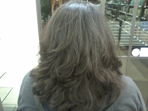 I gave the boyfriend's mom some gorgeous layers tonight. <3