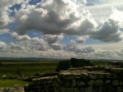 View of the English country side from Hadrian's Wall submitted by: defyexplanationdefygravity, thanks!