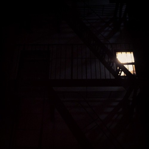 Fire escape  (at new york, ny)