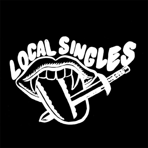 Here's a logo I drew for Brad Oberhofer's record label, Local Singles.