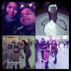 I had so much fun with the fam. #lovemybro#iceskating#familytime#cheesecakefactory#godivachocolatecheesecake#chocolate#