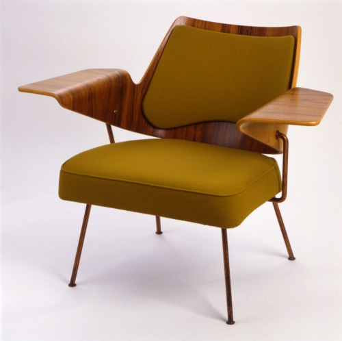 midcenturymodernfreak:  1951 Royal Festival Hall Armchair | Design: Robin Day | Courtesy Target Gallery, London Via