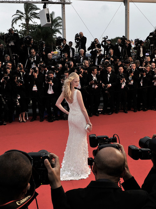 salveo:   Tanya Dziahileva at Cannes Film Festival, May 2013
