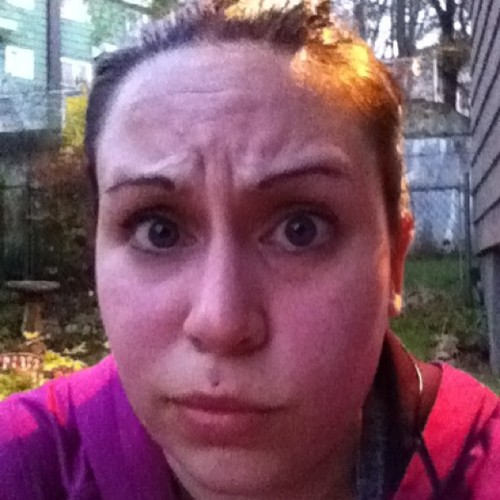 My Derp face as I just ran 5km in 35 minutes. Running = beer time, right?