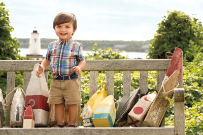 ralphlauren:   Ralph Lauren Childrenswear  You're never too young for the preppy fun of madras from RL Childrenswear Explore Now
