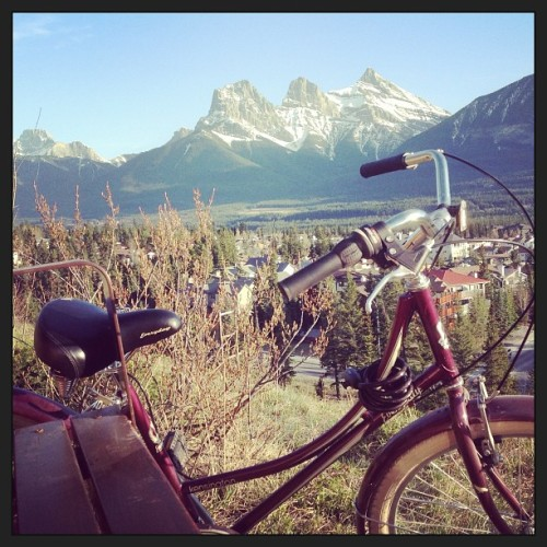 #bike #mountains #canada #rockymountains