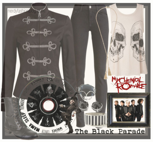 "The Black Parade | My Chemical Romance [Album Inspired Set]  I thought this would be a good way to say ""farewell"" to one of my favorite bands. This might even be a reoccurring thing…"