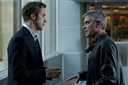 George Clooney & Ryan Gosling - THE IDES OF MARCH.