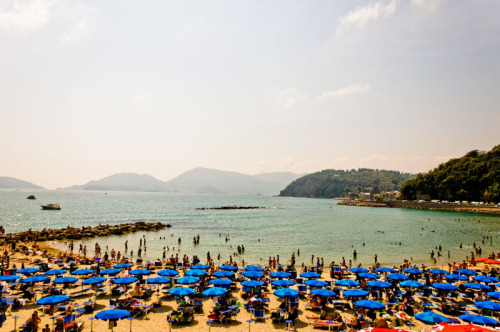 "shutterstock:  Beach Life - Lerici, Italy ""I do particularly like two kinds of pictures in my portfolio: those where you can really get both the view and the mood of a place at first glance, and those where my ""obsession"" for geometries fully emerges."" - Eddy Galeotti Click here to learn more about and see images taken by Shutterstock travel photographer Eddy Galeotti. Eddy Galeotti / Shutterstock.com"