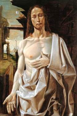 ayjay:  Bartolomeo Bramantino, The Risen Christ, described here