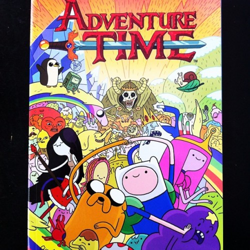 #justread Adventure Time vol. 1 Quite excellent.