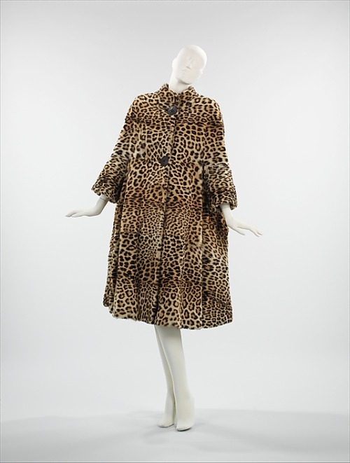 Coat Pauline Trigère, 1962 The Metropolitan Museum of Art