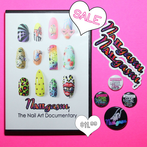 Have you heard about today's #NAILgasm flash sale?!?! Get your NAILgasm DVD bundles while they're hot. Just $11.99 today only!