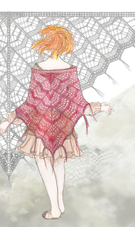 ladymdej:  My knitting pattern for Saffron's shawl from Firefly is (finally) done and published. It is available as a free download from Ravelry. It is available in US Letter and A4 pdf formats.