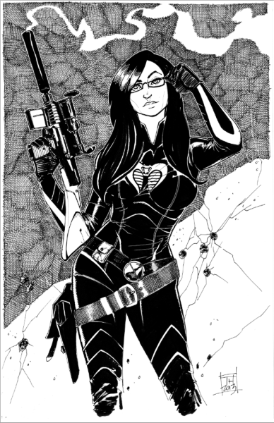 herochan:  The Baroness Created by Tom Hodges