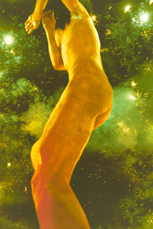 sean-clancy:  Ryan McGinley, Alex (Giant Explosion), 2010Chromogenic color print, 108 x 72 inches