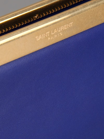 asthetiques:  SAINT LAURENT - LUTETIA CLUTCH.