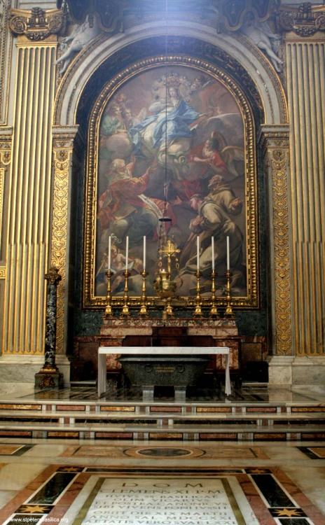 italdred:  The Altar Of The Immaculate Conception