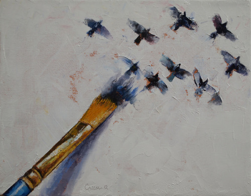 "gaksdesigns:  ""Birds"" by Michael Creese"