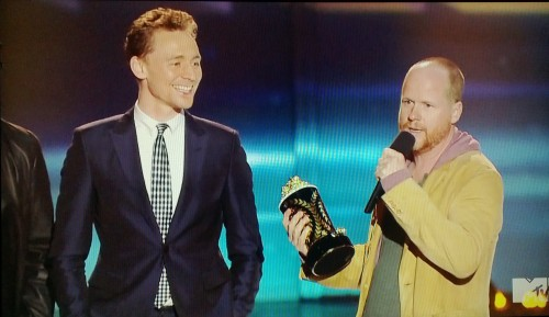 Tom Hiddleston & Joss Whedon #MTVMovieAwards