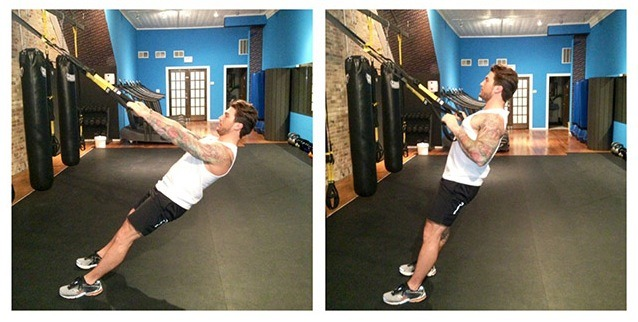 One-Off Workout: 5-Move TRX and Kettlebell Fat Burn Combo Men's Fitness - Sports, Fitness, Health, Nutrition, Style and Sex