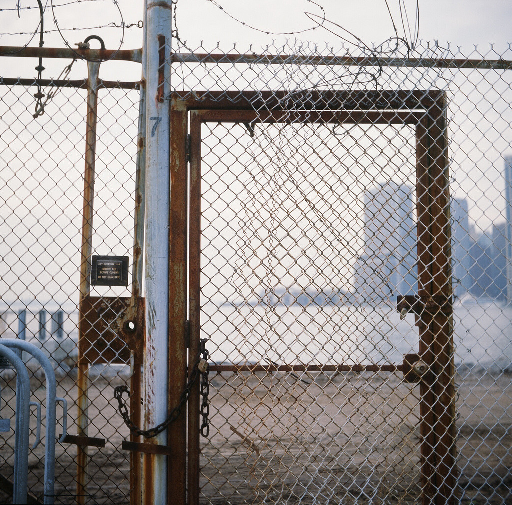 Doorway  Yashica-A  Brooklyn Bridge Park, Brooklyn