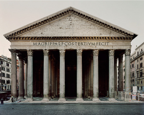 valscrapbook:  The Pantheon, Rome by JMWTurner on Flickr.
