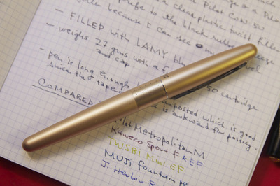 Pilot Metropolitan Fountain Pen ReviewI had recently seen the Pilot Metropolitan pop up on JetPens but noticed that most of the color…View Post