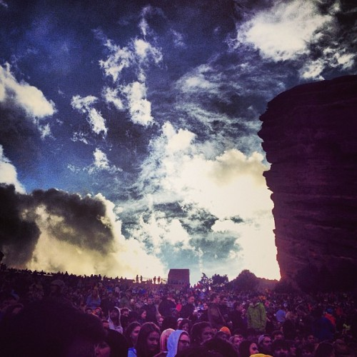 #booming (at Red Rocks Park & Amphitheatre)