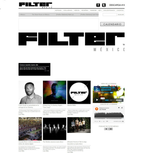 VIVA FILTER MEXICO'S NEW WEBSITE!