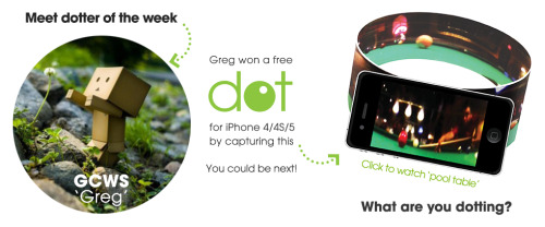 Meet our first ever Dotter of The Week, GCWS (aka Greg). To check out his dotspots, go to kogeto.com/u/GCWS. What are you dotting?