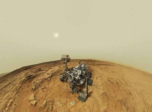 Curiosity Rover Self-Portrait.
