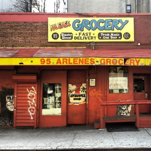 #ArlenesGrocery in the day time #lowereastside #les #manhattan aka mathhattan